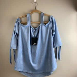 Joh Apparel Austin's off shoulder top